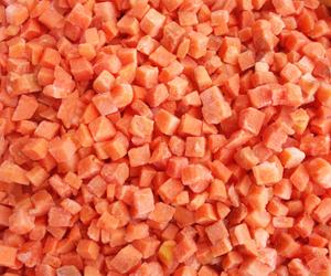 速冻胡萝卜丁